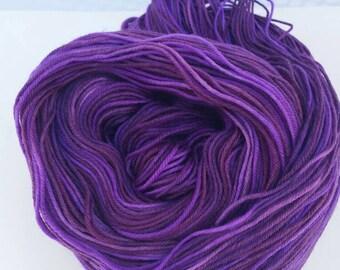 Hand Dyed Superwash Merino/Nylon Yarn