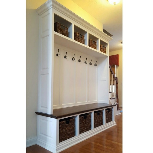 Mudroom Lockers And Benches By Speckcustomwoodwork On Etsy
