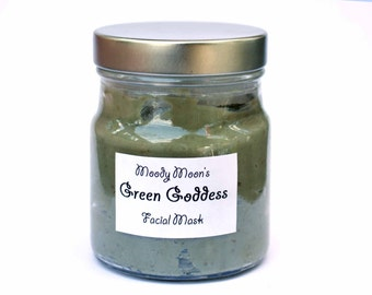 Green Goddess Purifying Detoxifying Natural Mud & MIlk Face Mask