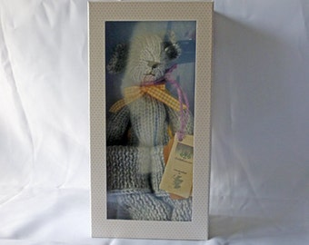 Wool critter with snugg boots - Grey