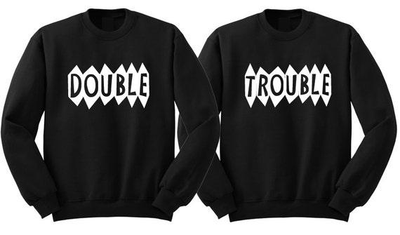 Matching bff sweatshirt. Matching best friend sweatshirts. Matching sister shirts. Funny twin shirts. Matching boy sibling shirt. Bff shirts