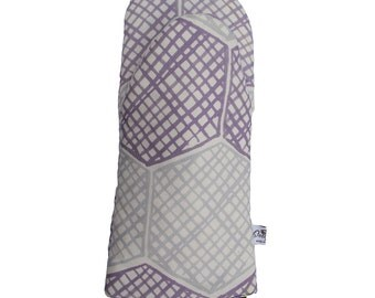 Honeycomb Oven Glove lilac