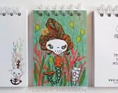 Mermaid Skelly Notebook