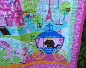 Handmade Sweet Dreams Baby Quilt