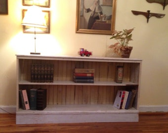 Shabby Chic Reclaimed Wood Bookcase ii