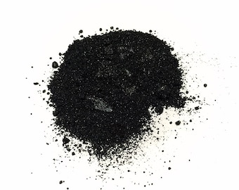 BLACK EBONY Mineral Eye Shadow - Natural Mineral Makeup - Titanium Free Gluten Free Vegan Face Color