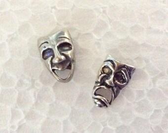 Vintage Sterling Silver Drama Earrings