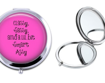 SALE! Compact Mirror - Gift - CM022