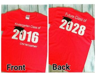 Kindergarten Graduation Shirt / Kindergarten Graduation Gift / Graduation Gift / Kindergarten Graduation / Graduation Shirt / Kindergarten