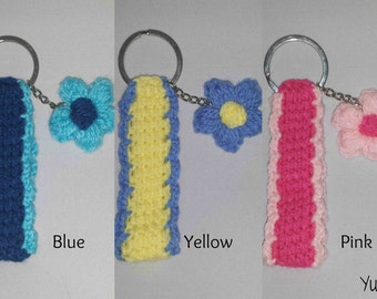 Flower Keystrap Key Fob