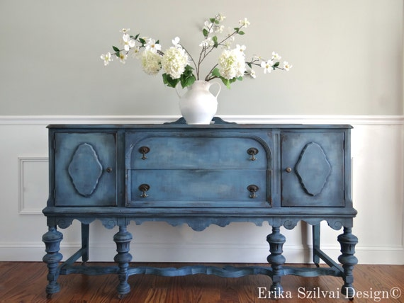 Sold Custom Finish For Christine Hand Painted Cottage