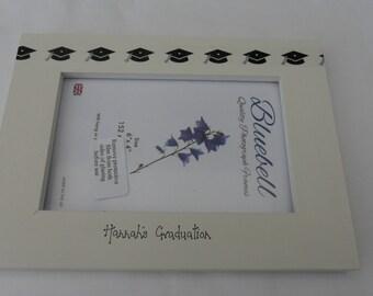"""Graduation  personalised  photoframe   6 x 4"""""""