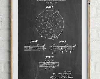 Transistor Semiconductor Patent Poster, Electrical Engineer Gift, Electrician, Technology Art, Office Decor, Man Cave, PP1113