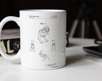 Star Wars TaunTaun 4 image Patent Mug, Star Wars Characters, Starwars Decor, Movie Mug, Star Wars Gifts, PP1058