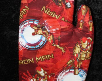 Oven Mitt - Iron Man
