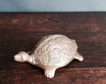 Small Brass Turtle