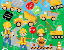 80%OFF Construction Clipart, Cars Clipart, Dump truck, Construction Boy, Construction Girl, Truck Clipart, Commercial Use, AMB-1171