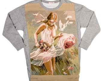 Sweat long woman Libertine - M - Collection canvas