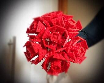 Lego® Brick Red Rose Bouquet
