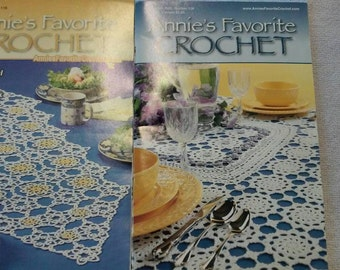 Annie's Favorite Crochet  Books   Two Pattern Books