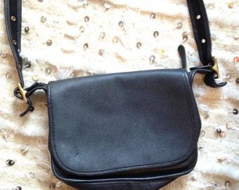 Black Coach bag / saddle bag