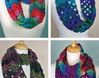 Crochet Cowls Pattern: One-Skein Cowls, PDF download