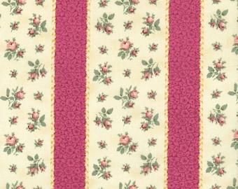 RJR Fabrics Marseille 2670 01 Stripe Pink Yardage by Robyn Pandolph