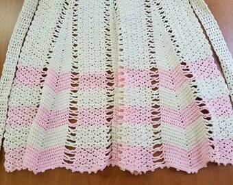 Vintage Crochet Apron  #1