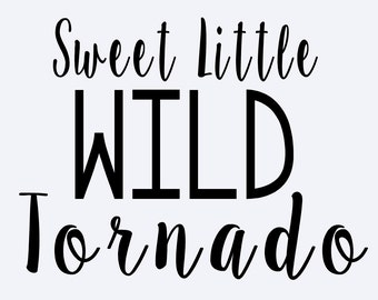 Sweet little wild tornado
