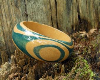 Wood Grain Bangle (Eucalyptus)