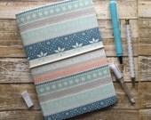Wide - Fauxdori - Eastdori - Fabric Travelers Notebook - refillable - Customize