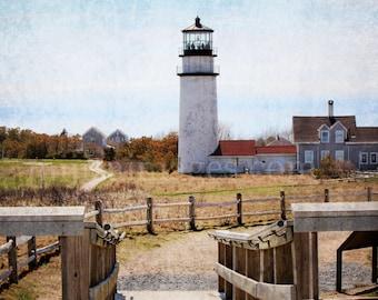 Highland Light Truro Cape Cod - Retro
