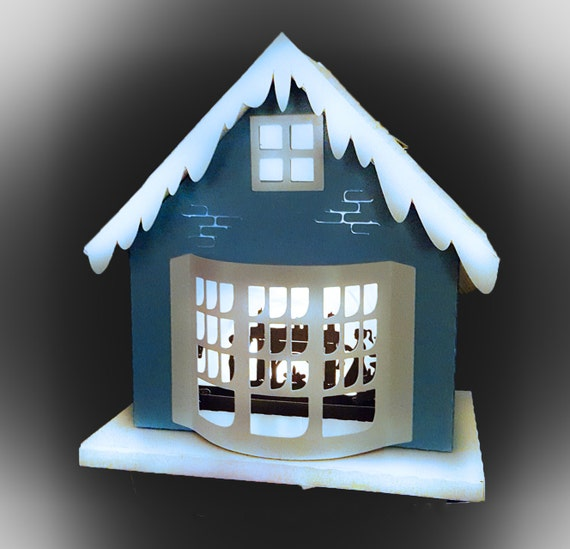 3d christmas house one more sleep template for 3d christmas decoration templates