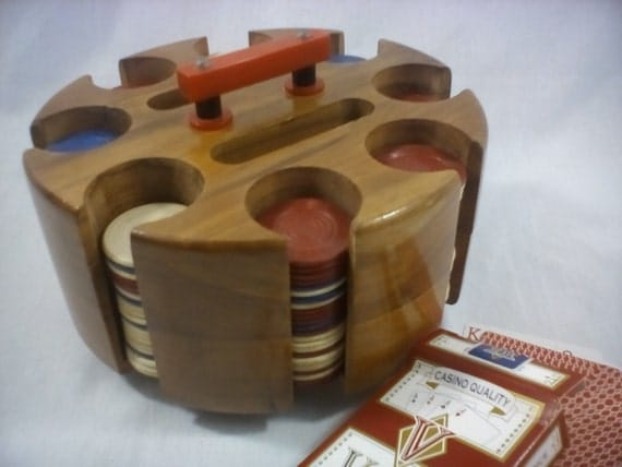 Wooden poker chip tray plans