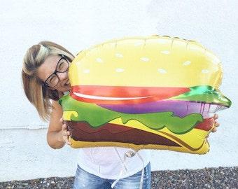 Hamburger Balloon | Petite Party Studio
