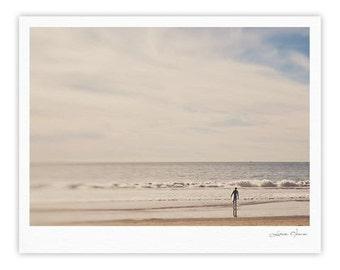"Gallery Print - Brown Gray Beach Sand Myan Soffia ""Ritual"" MC1003A Great Gift Idea!"