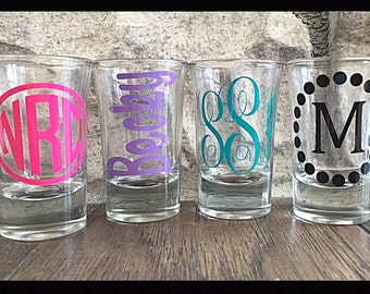 Personalized/Monogrammed Shot Glass