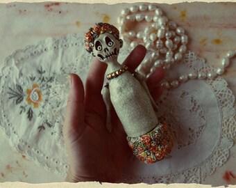 Ceramic jewelry box in handmade