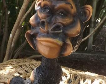Vintage Bobblehead Gorilla, Ape, Monkey