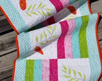 Carrot Patch Table Runner