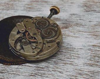 Pocket Watch PDF Cross Stitch Pattern