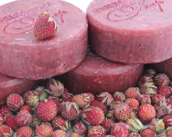 natural soap Strawberry goat milk