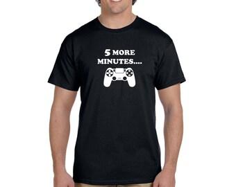 Five more minutes Playstation Men's T-shirt