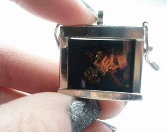 Lestat Interview with a Vampire film cell necklace.