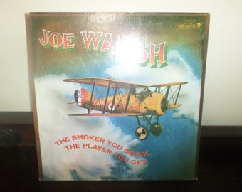 Save 30% Today Vintage 1973 Vinyl LP Record Joe Walsh The Smoker You Drink The Player You Get Very Good Condition 5144