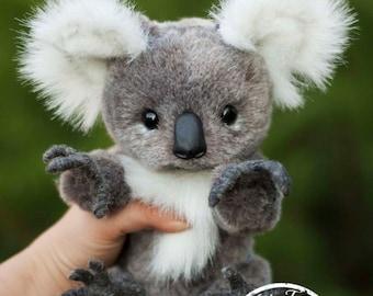 Koala Niki (make to order),  Teddy Bear Stuffed Animal Bear Soft Toys Artist Teddy Bears
