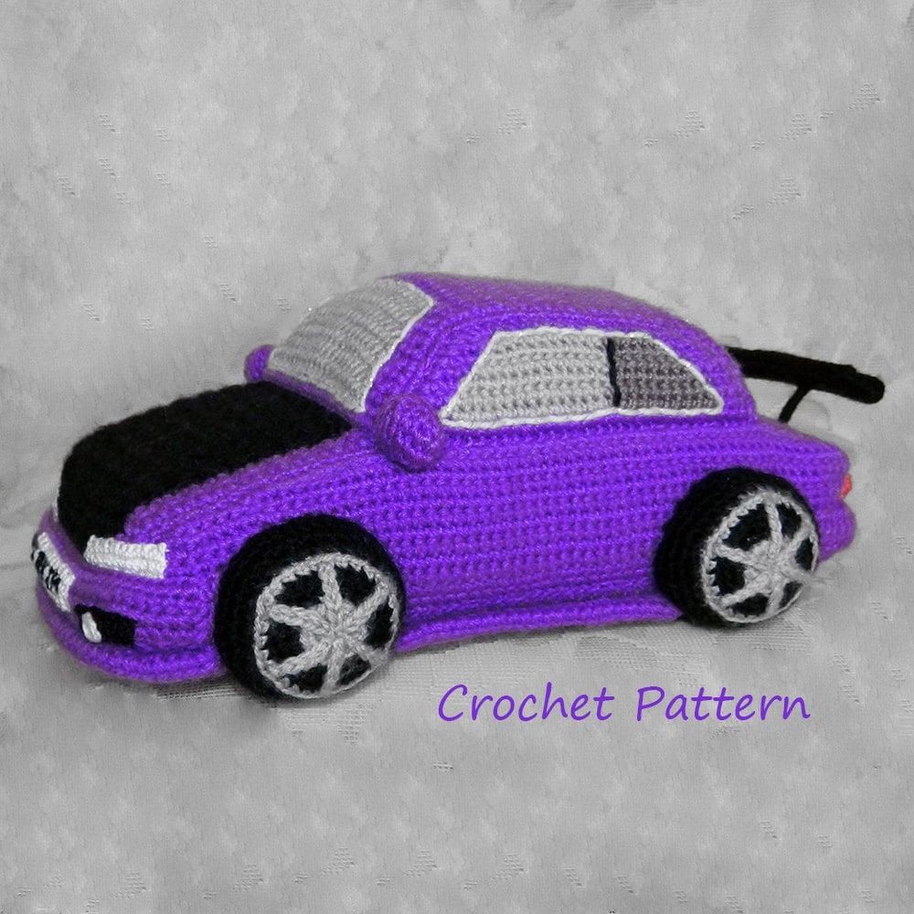 Amigurumi Patterns Cars : Amigurumi pattern crochet car and machine violet