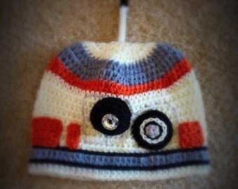 BB8 Hat - Crochet BB8 Star Wars Droid Hat - BB8 Kids Costume - Kids Star Wars Costume - Comic-Con Costume - Baby Cosplay -  Newborn