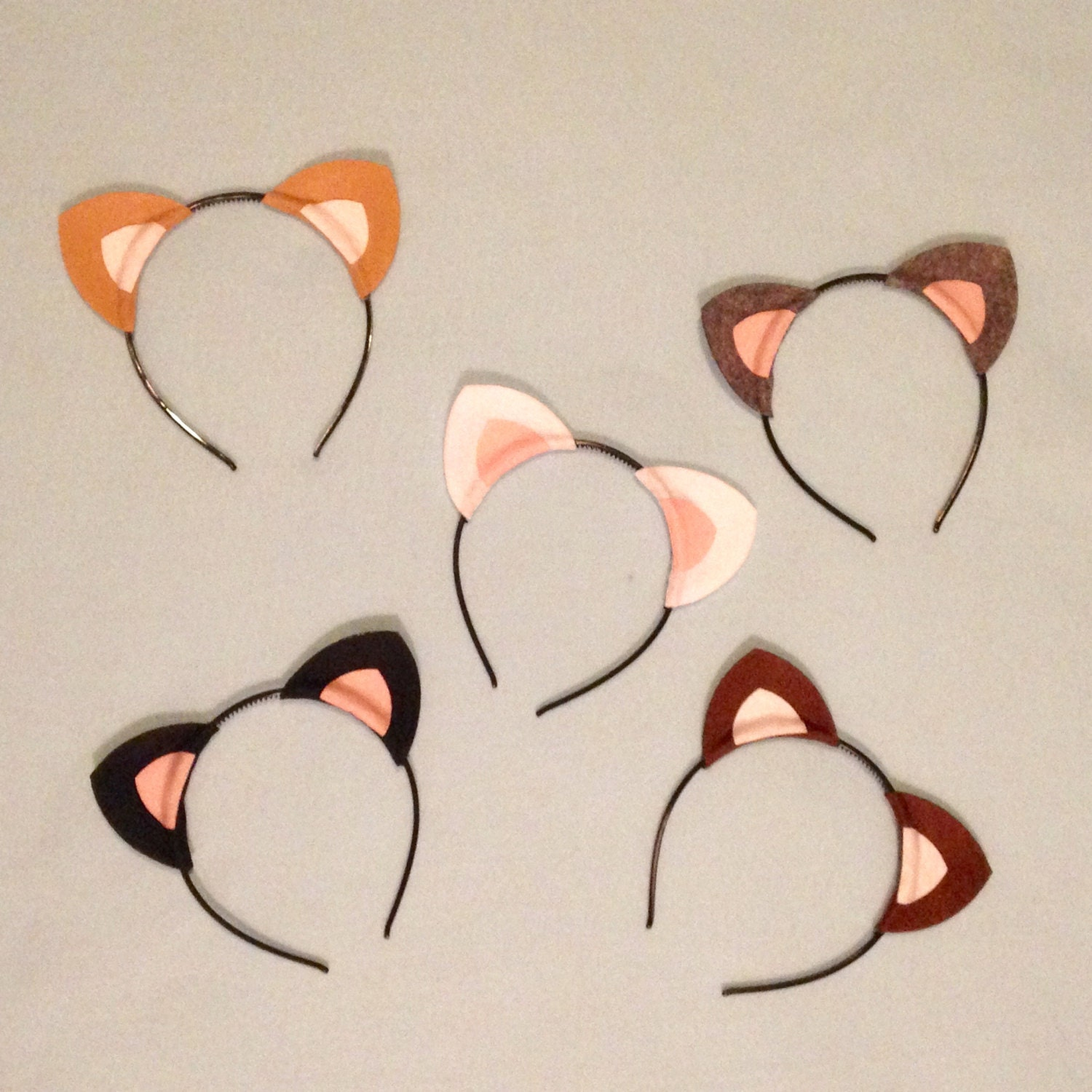 15 kitty cat ears headband birthday party favors supplies zoom filmwisefo Image collections