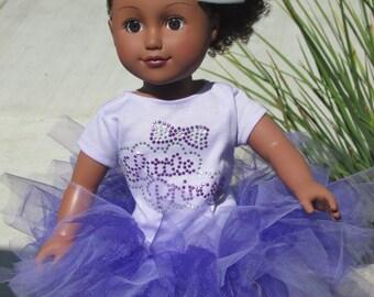 18 Doll T-shirt Little Princess